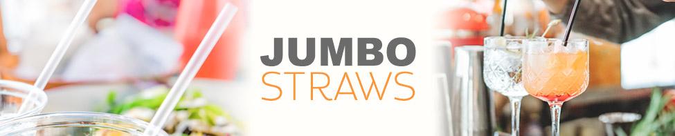 WoW jumbo plastic straws