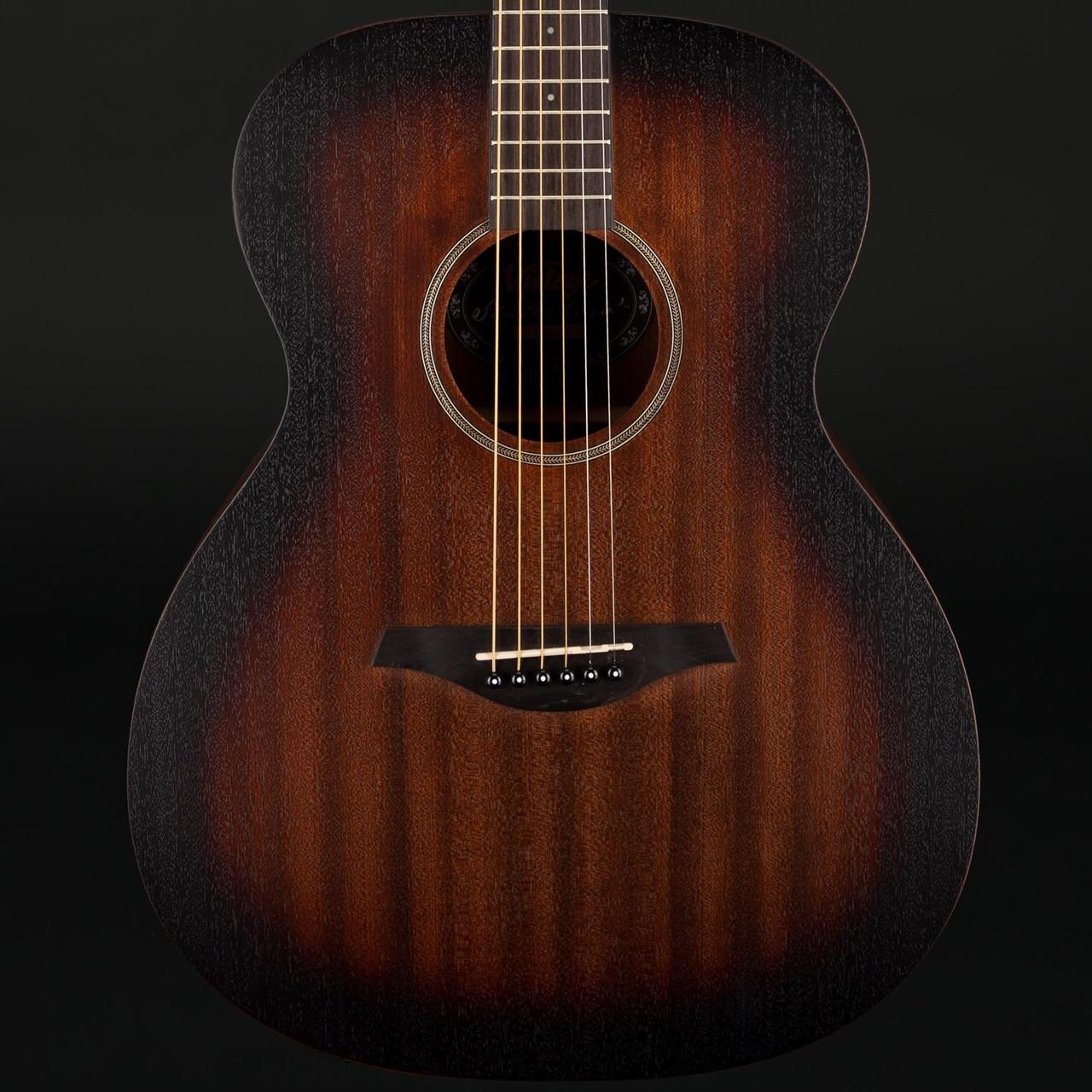 Whisky Sour Vintage Paul Brett Statesboro/' Acoustic Dreadnought Guitar