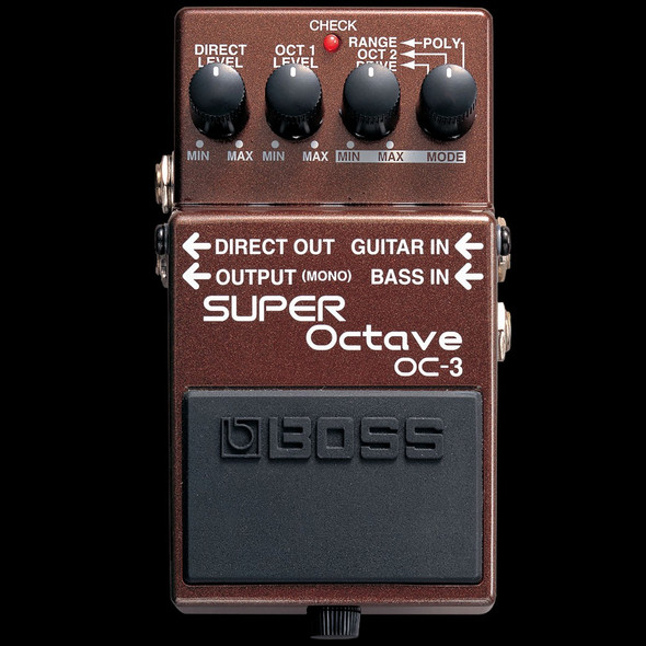 Boss OC-3 Super Octaver Guitar Effects Pedal