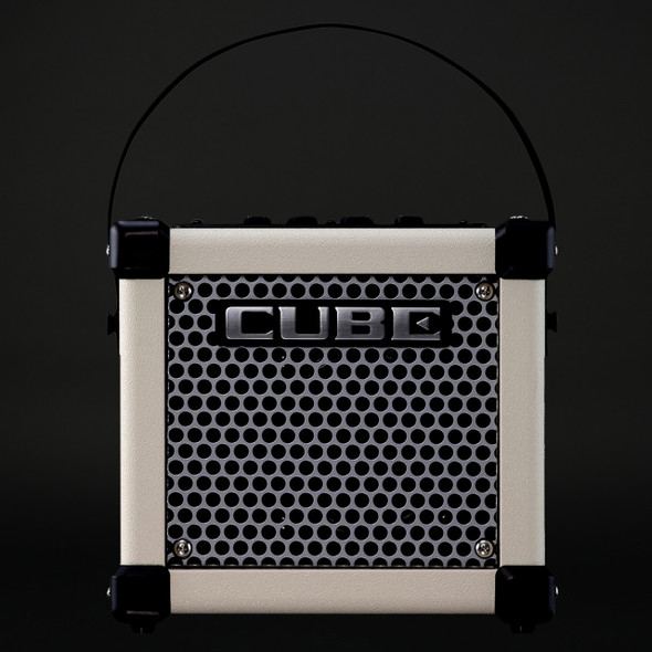Roland Micro Cube GX Electric Guitar Amplifier in White