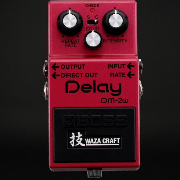 Boss DM-2W Waza Craft Custom Analog Delay Pedal