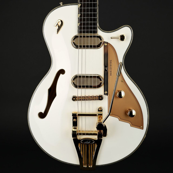 Duesenberg Starplayer TV Phonic in Venetian White with Case