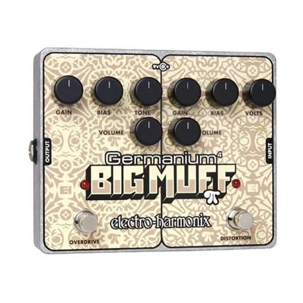 Electro Harmonix Germanium 4 Big Muff Pi Overdrive & Distortion Pedal