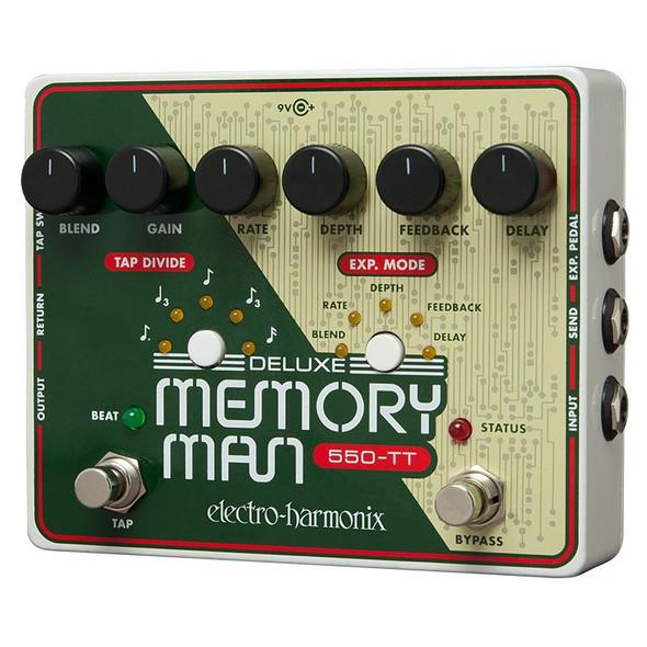 Electro Harmonix Deluxe Memory Man W/Tap Tempo 550ms Analog Delay Pedal