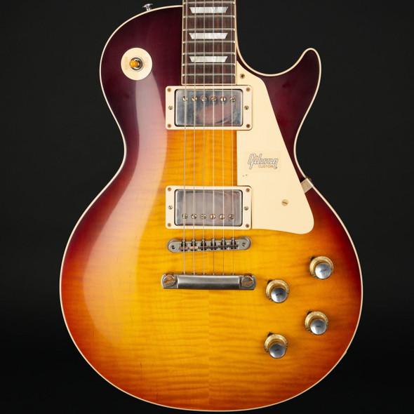 Gibson Custom Shop Historic '60 Les Paul Standard in Dark Bourbon Fade VOS #08626