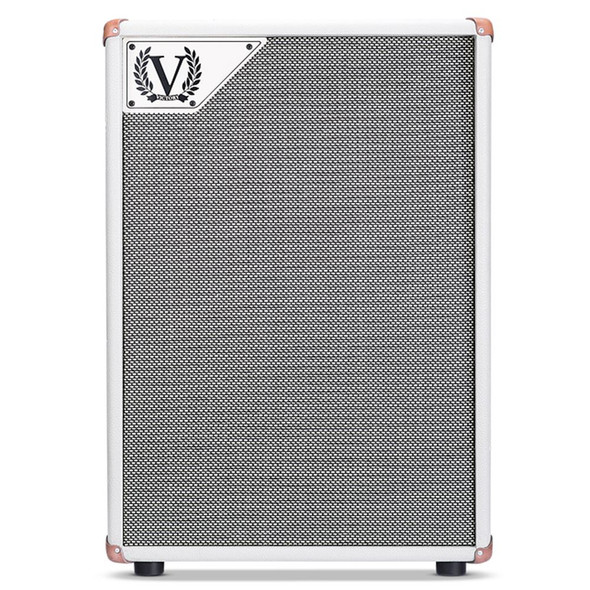 Victory V212VC D 2x12 Cabinet with 2x Celestion G12M-65 Creamback in Cream