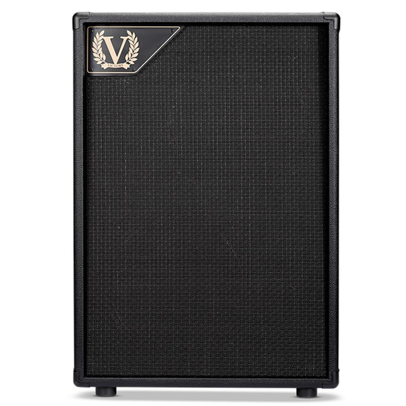Victory V212VH 2x12 Closed Back Cabinet with 1x Celestion Vintage 30, 1x Celestion G12H Anniversary in Black
