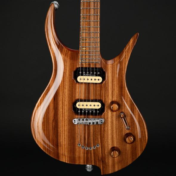 Zerberus Guitars Zebrano-Hydra #002 Pre-Owned