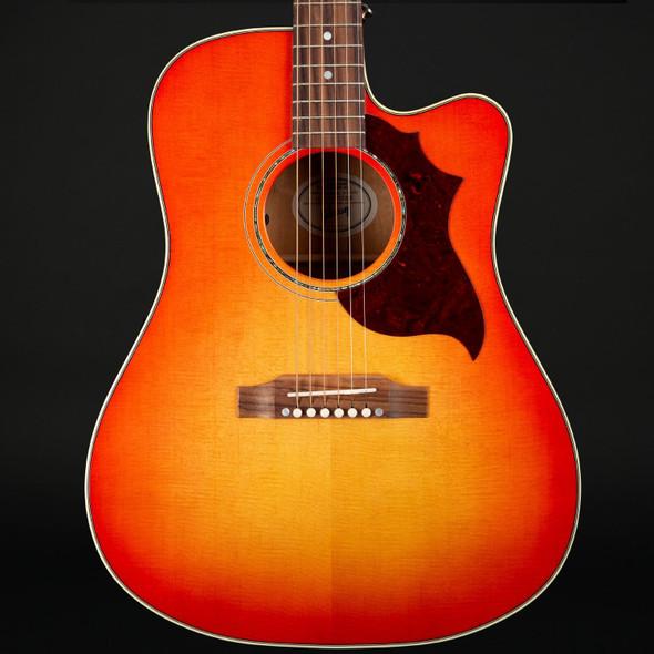 Gibson Hummingbird Mahogany Avant Garde in Light Cherry Burst #12008051