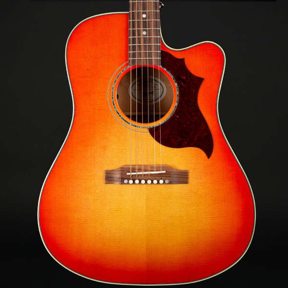 Gibson Acoustic 2019 Hummingbird Mahogany Avant Garde in Light Cherry Burst #12008051