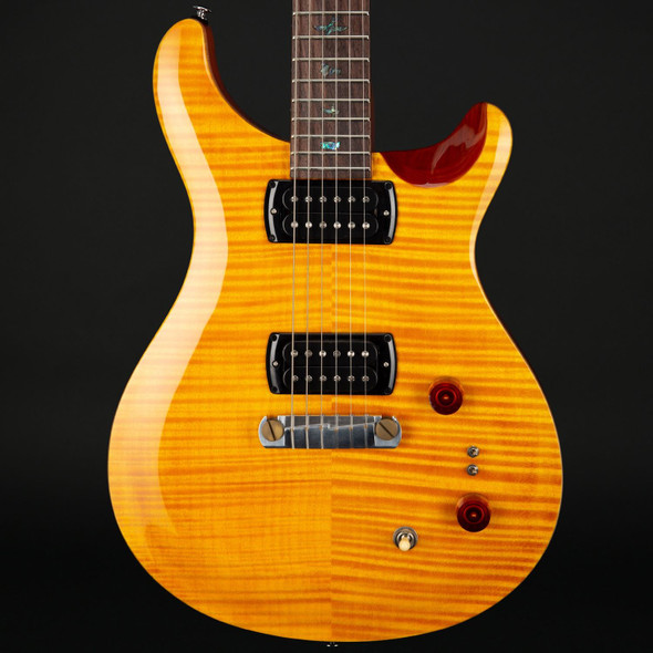 PRS SE Pauls Guitar in Amber with Tobacco Back