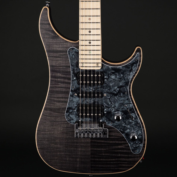 Vigier Excalibur Special in Black Diamond Matte, Maple with Case #170093