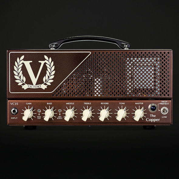 Victory VC35 The Copper EL84 Valve Head