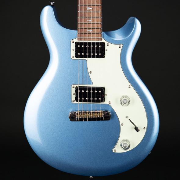 PRS SE Mira in Frost Blue Metallic