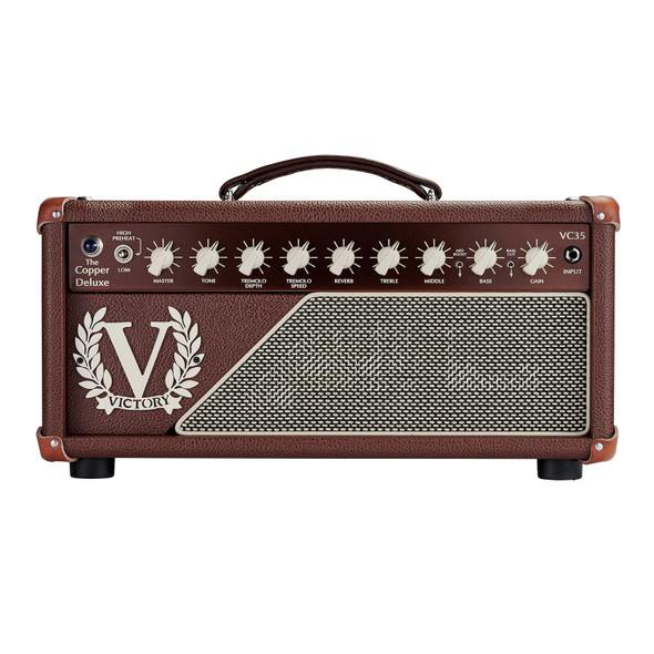 Victory VC35 The Copper Deluxe EL84 Valve Head