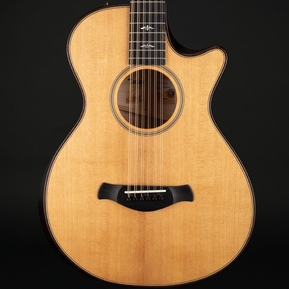 Taylor 652ce Builder's Edition V-Class with Natural Top #1201240083