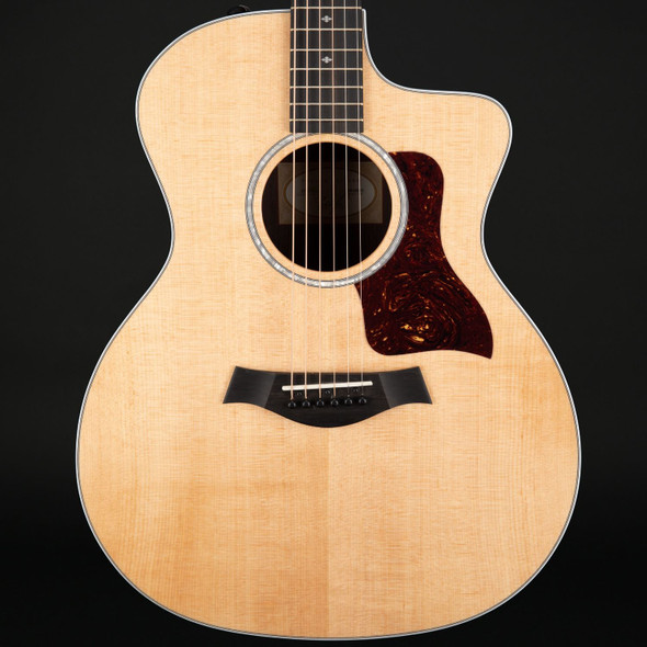 Taylor 214ce DLX Deluxe Grand Auditorium Cutaway Electro Acoustic with Case