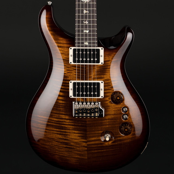 PRS Custom 24 35th Anniversary in Black Gold Burst with Pattern Thin Neck #0297001