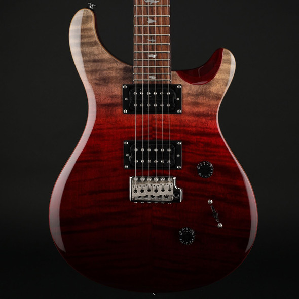 PRS SE Custom 24 Limited Edition in Charcoal Cherry Fade #C01230