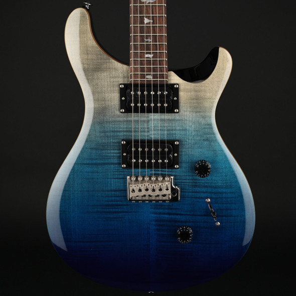 PRS SE Custom 24 Limited Edition in Charcoal Blue Fade #C04083