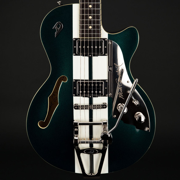 Duesenberg Starplayer TV Mike Campbell 40th Anniversary in Catalina Green with Case