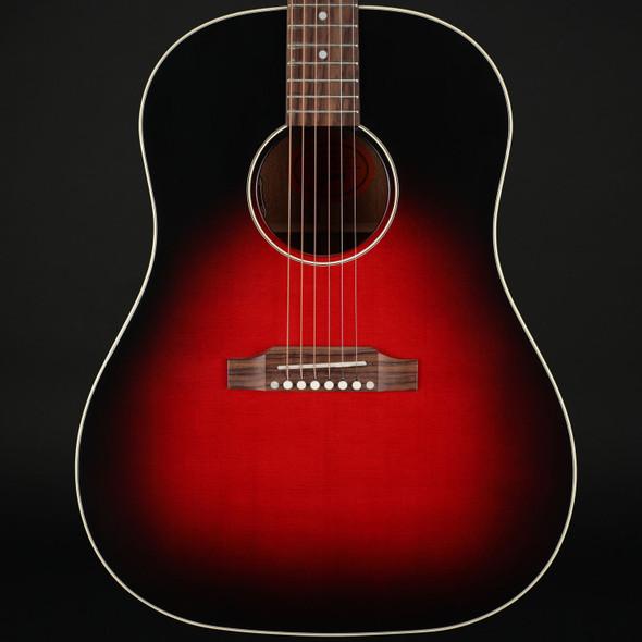 Gibson Slash J-45 in Vermillion Burst #21320077