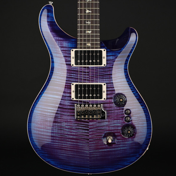 PRS Custom 24 35th Anniversary in Violet Blue Burst with Pattern Thin Neck #0299261