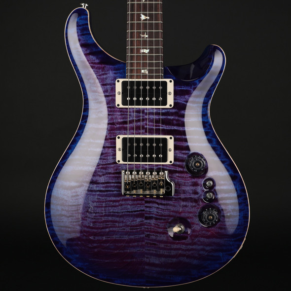 PRS Custom 24 35th Anniversary in Violet Blue Burst with Pattern Thin Neck #0303734