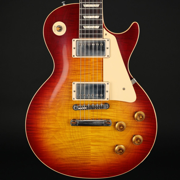 Gibson Custom Shop 60th Anniversary 1960 Les Paul Standard V1 VOS in Deep Cherry Sunburst #01280