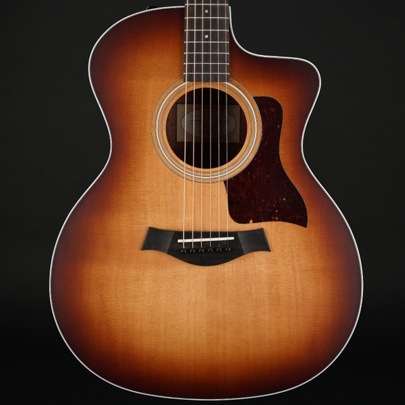 Taylor 214ce-K SB Koa Grand Auditorium Cutaway, ES2 in Shaded Edgeburst with Gig Bag #2208240287