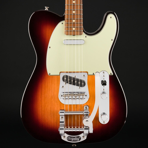 Fender Vintera '60s Telecaster Bigsby, Pau Ferro Fingerboard in 3-Color Sunburst #MX20070832