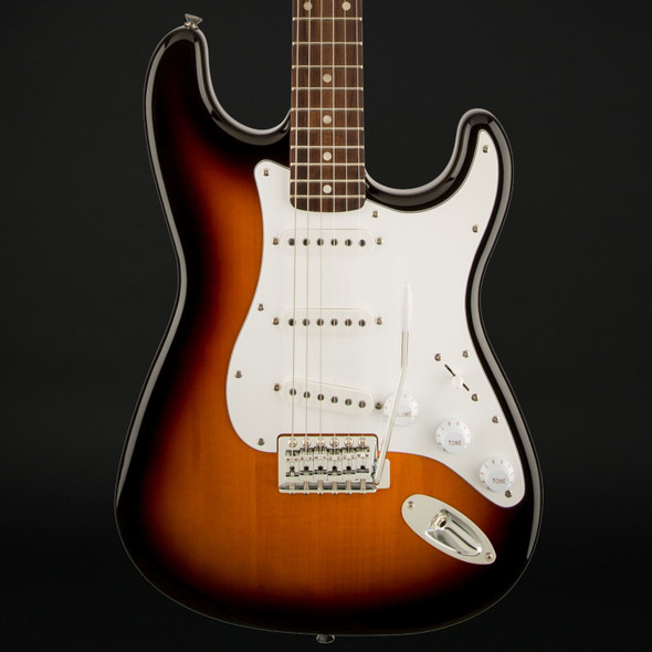 Squier Affinity Series Stratocaster, Laurel Fingerboard in Brown Sunburst