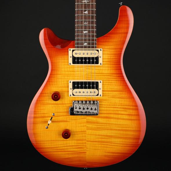PRS SE Custom 24 Left-Handed in Vintage Sunburst #C30157