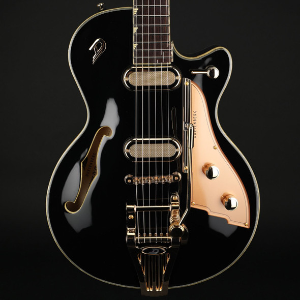 Duesenberg Starplayer TV Phonic in Black with Case
