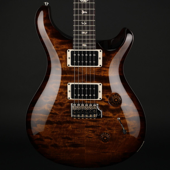 PRS Custom 24 in Black Gold Wrap Burst with Pattern Thin Neck #0305667
