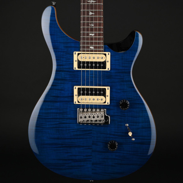 PRS SE Custom 24 in Blue Matteo #C32562