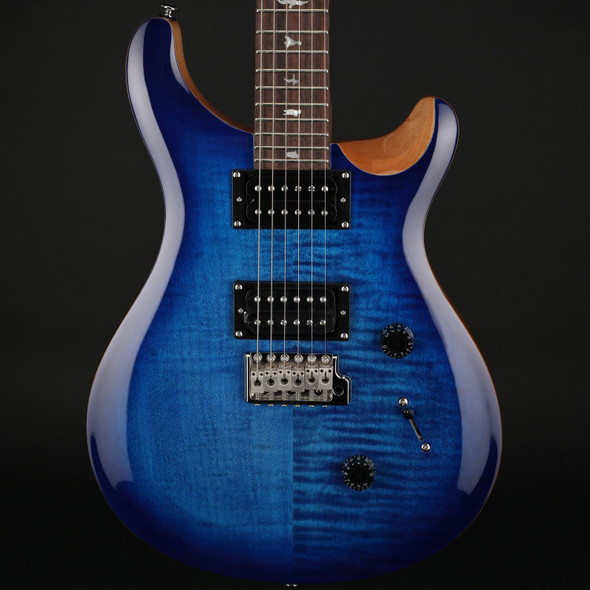 PRS SE Custom 24 in Faded Blue Burst #C44144