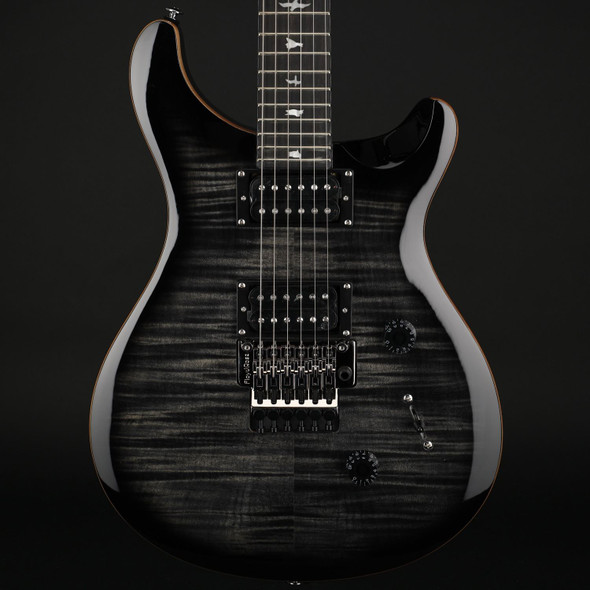 PRS SE Custom 24 Floyd in Charcoal Burst #C39608