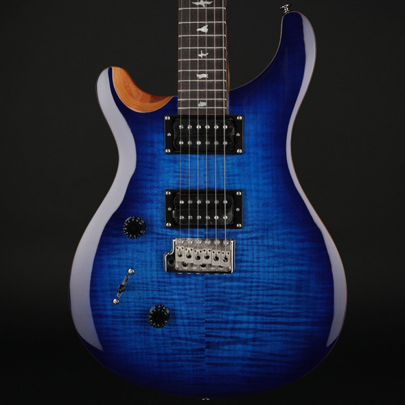 PRS SE Lefty Custom 24 in Faded Blue Burst #C44766