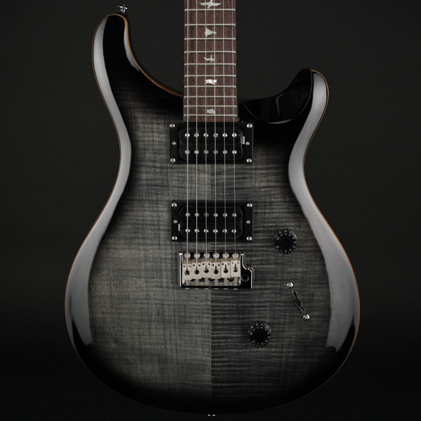 PRS SE Custom 24 in Charcoal Burst #C42489