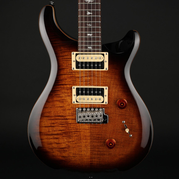 PRS SE Custom 24 in Black Gold Sunburst #C41914