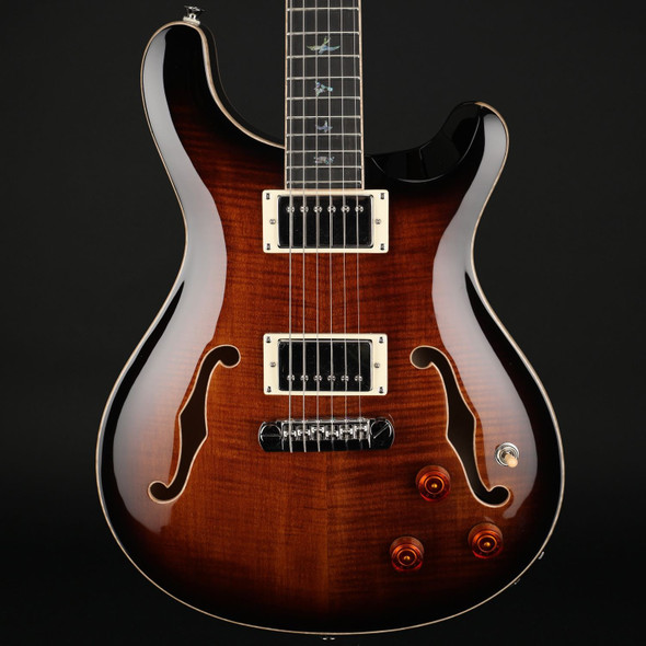 PRS SE Hollowbody II Piezo in Black Gold #D18409