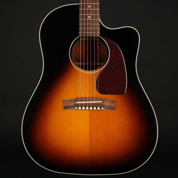 Epiphone Inspired by Gibson J-45 EC Electro Acoustic in Aged Vintage Sunburst