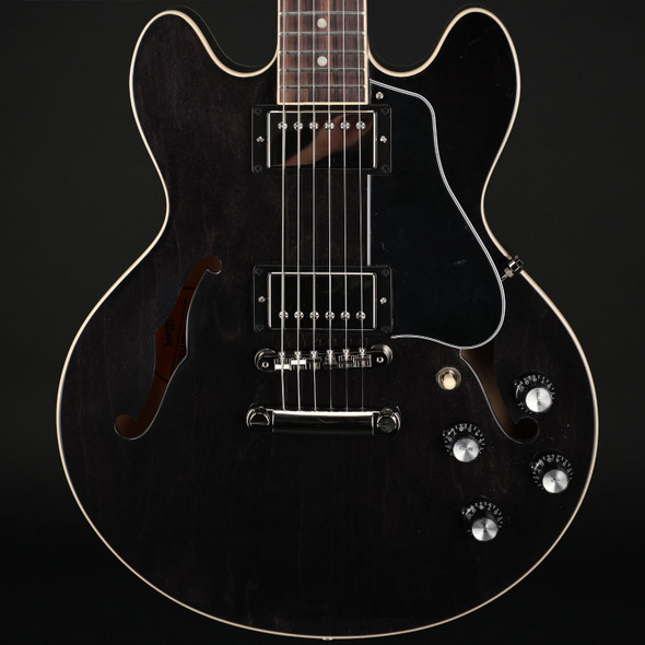 Gibson ES-339 in Trans Ebony #231700006