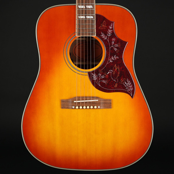 Epiphone Inspired by Gibson Hummingbird Electro Acoustic in Aged Cherry Sunburst Gloss