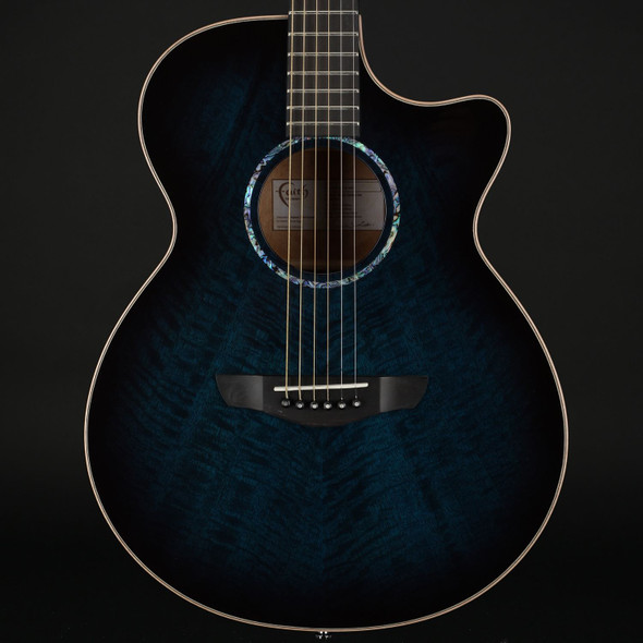 Faith Blue Moon Venus Cutaway Electro Acoustic with Case #201141440