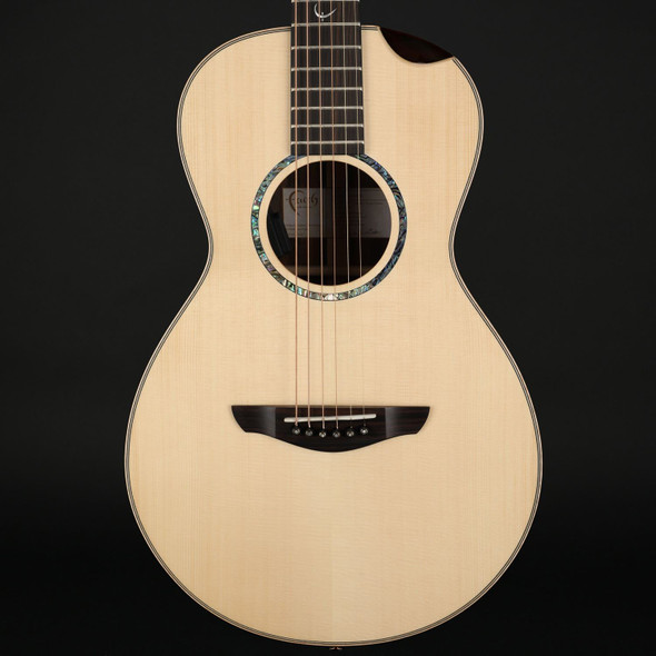 Faith Hi Gloss Mercury Electro Acoustic with Scoop in Natural with Case