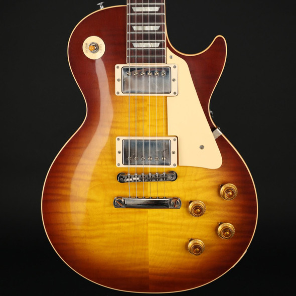Gibson Custom Shop '59 Les Paul Standard Reissue VOS in Iced Tea Burst #901713