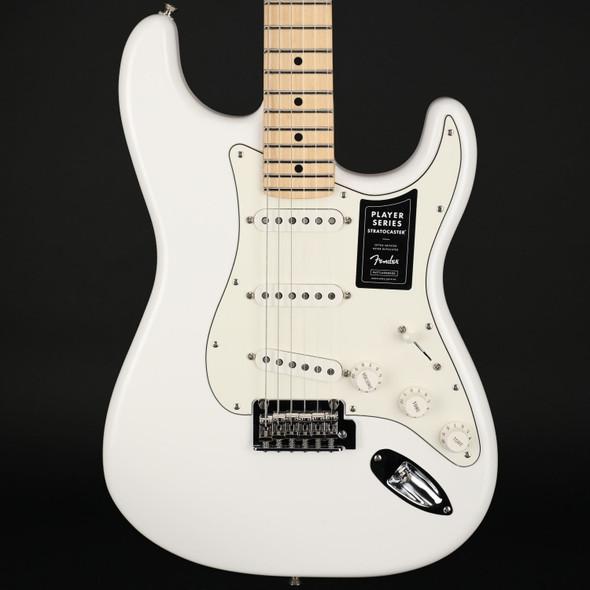 Fender Player Stratocaster, Maple Fingerboard in Polar White