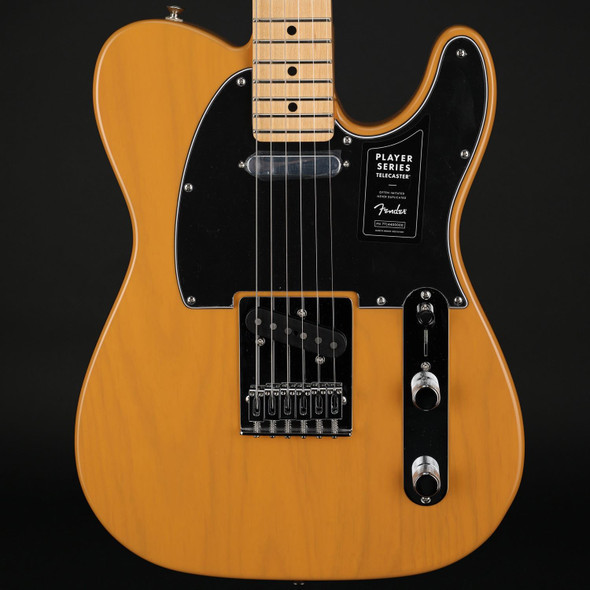Fender Player Telecaster, Maple Fingerboard, in Butterscotch Blonde